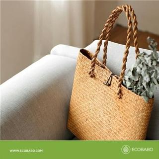 Túi cói đan thủ công