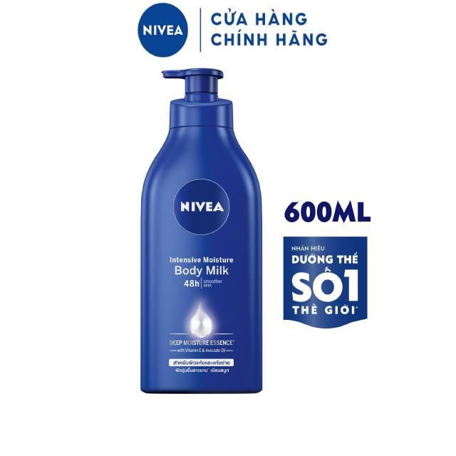 Sữa dưỡng thể NIVEA dưỡng ẩm chuyên sâu (600ml) – 83856