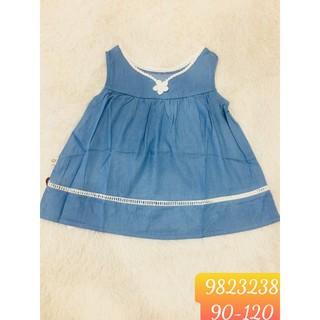 Hàng hè 2020 Váy BabyPoint cho bé size 2y - 6y, dành cho bé từ 13kg đến 23kg, chất cotton mềm mịn