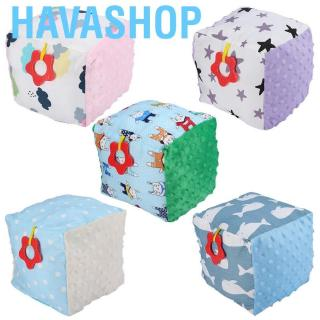 Havashop Baby Sensory Cube Toy Cute Cartoon Peas Ball Perfect Shower Gift Adorable Comfort For Children With Specia