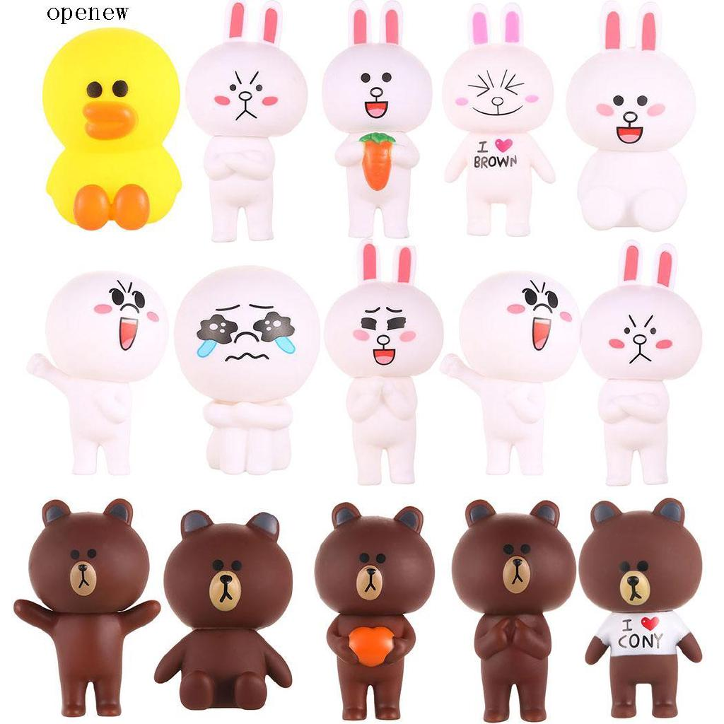 op Cute Kids Adults Unisex Toys Cute Figure Small Model Doll