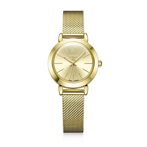 Đồng hồ nữ dây thép lưới Julius JA-732 - JU970 (Vàng) chính hãng Hàn Quốc - 3553718 , 1318912386 , 322_1318912386 , 693840 , Dong-ho-nu-day-thep-luoi-Julius-JA-732-JU970-Vang-chinh-hang-Han-Quoc-322_1318912386 , shopee.vn , Đồng hồ nữ dây thép lưới Julius JA-732 - JU970 (Vàng) chính hãng Hàn Quốc