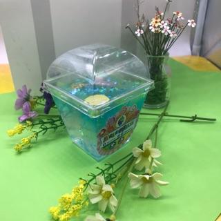Slime trong đặc hộp vuông