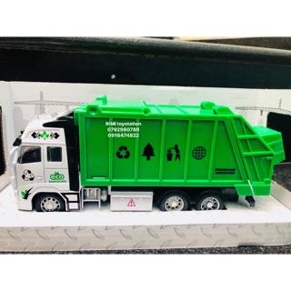 Xe công trình rác thải đồ chơi