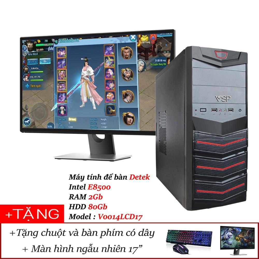 Máy tính để bàn Detek - Intel E8500 RAM 2Gb HDD 80Gb - 2494257 , 1253464092 , 322_1253464092 , 2990000 , May-tinh-de-ban-Detek-Intel-E8500-RAM-2Gb-HDD-80Gb-322_1253464092 , shopee.vn , Máy tính để bàn Detek - Intel E8500 RAM 2Gb HDD 80Gb