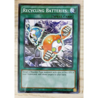 [Thẻ Yugioh] Recycling Batteries