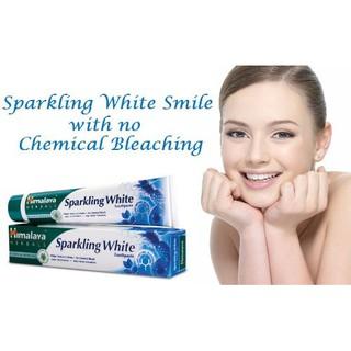 Kem đánh răng trắng sáng lấp lánh Himalaya Sparkling White Toothpaste 100g  giảm chỉ còn 50,000 đ