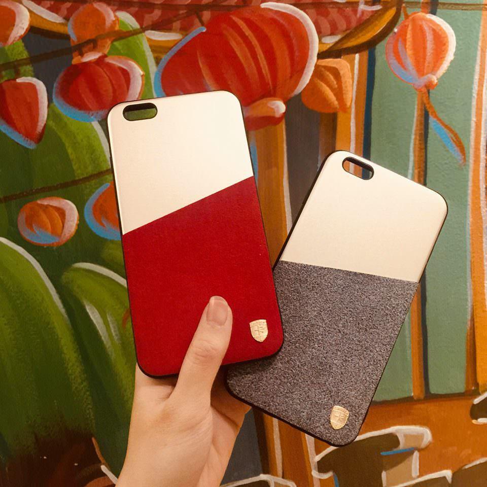Ốp Iphone 2 màu
