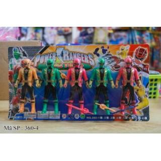bộ đồ chơi 5 anh em siêu nhân