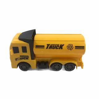 Đồ chơi xe ô tô Truck xinh xắn màu vàng có bánh đà cho bé giá rẻ siêu ưu đãi 3