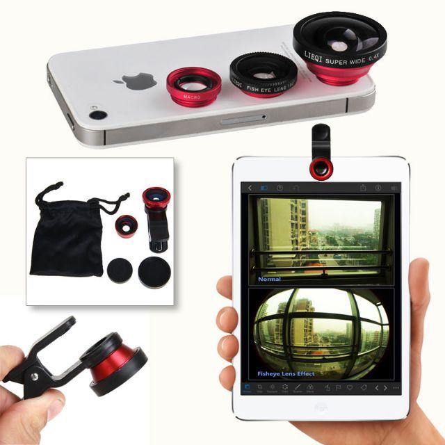 LENS CHỤP HÌNH camera 3 in 1 cho điện thoại