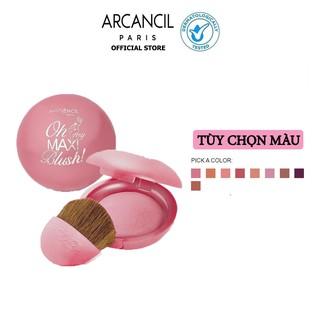 Phấn má hồng Oh My Maxi Blush Maxi size Macaron Blusher 4g thumbnail