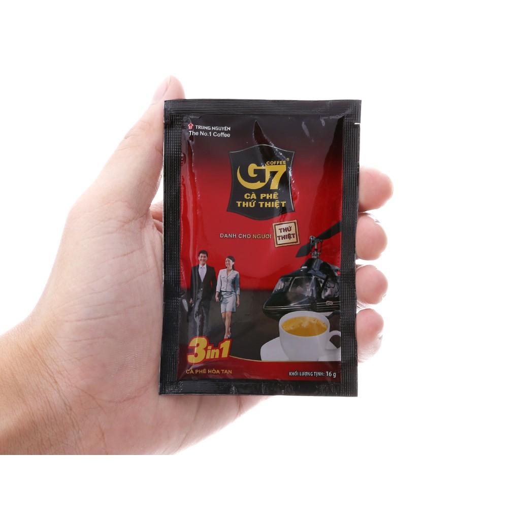 COMBO 5 BỊCH 16G - Cà phê G7 3in1