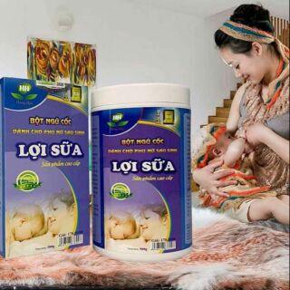 Bột ngũ cốc lợi sữa dành cho phụ nữ sau sinh