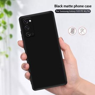 Ốp Lưng Tpu Mềm Siêu Mỏng Màu Đen Cho Samsung Galaxy S21 Ultra Plus 5g Samsung Galaxy A42 A51 A71 A50 A70 S20 Fe