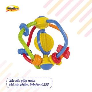 Xúc xắc gặm nướu bằng nhựa Winfun 0233