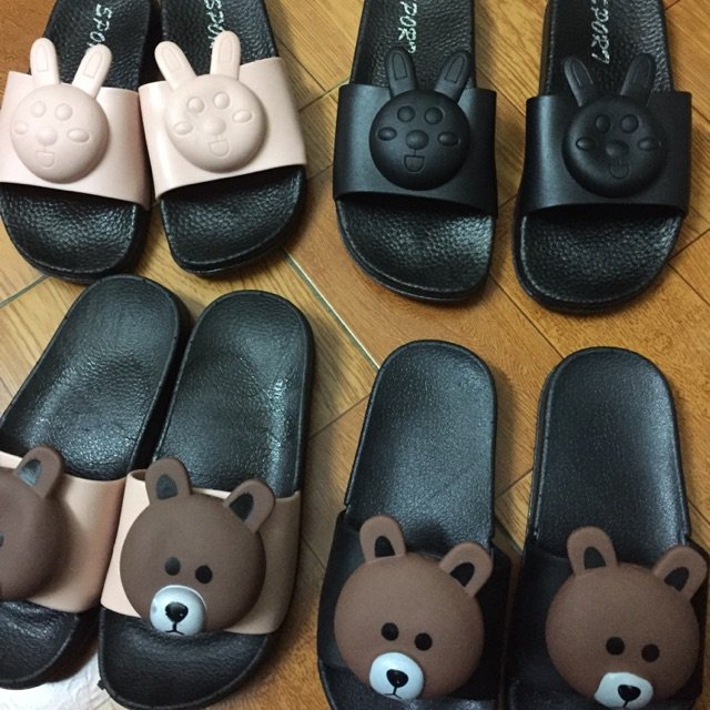 Dép Thỏ, Gấu trẻ em size 30-35