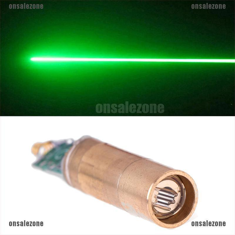 [onsalezone]532nm Green line laser module/laser diode/light free driver/lab/steady working