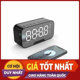 [Xả Kho – Miễn Phí Vận Chuyển] Loa Usb, Loa Bluetooth G10 Tích Hợp Gương Và Đồng Hồ   Đa Chức Năng   99011