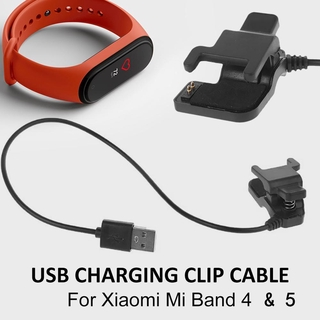 Usb Charger 0.3/1M USB Charger Cable for Xiaomi Mi Band 5 Charger Disassembly-free Adapter Fast Charging Cable for MiBand 5 M5 NFC Cable
