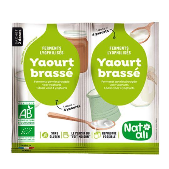 Men làm sữa chua Yaourt brassé hữu cơ Natali - 3057030 , 1323413833 , 322_1323413833 , 150000 , Men-lam-sua-chua-Yaourt-brasse-huu-co-Natali-322_1323413833 , shopee.vn , Men làm sữa chua Yaourt brassé hữu cơ Natali