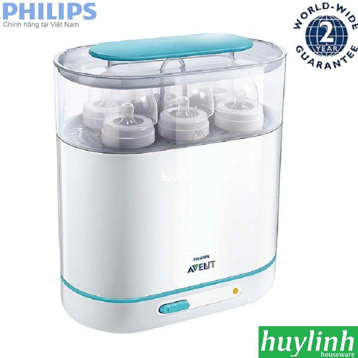 Máy tiệt trùng bình sữa Philips Avent SCF284