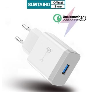 Củ sạc nhanh SUNTAIHO 3.0A cho điện thoại iPhone 6 6s xs xs max 7 8
