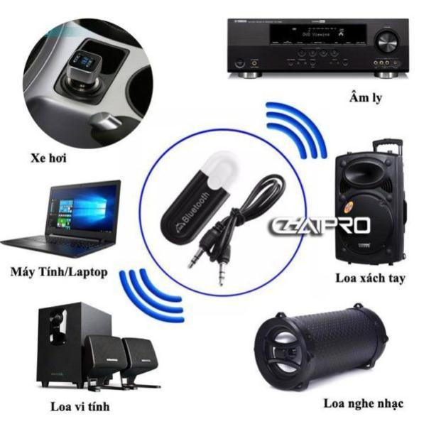 USB thu bluetooth kết nối điện thoại ra loa đài, bàn mixer, biến loa thường thành loa không dây cao cấp DATA