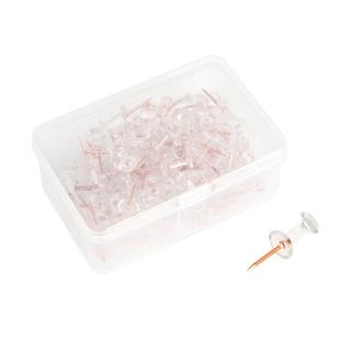 Set 100 Đinh Ghim Trong Suốt Bằng Nhựa