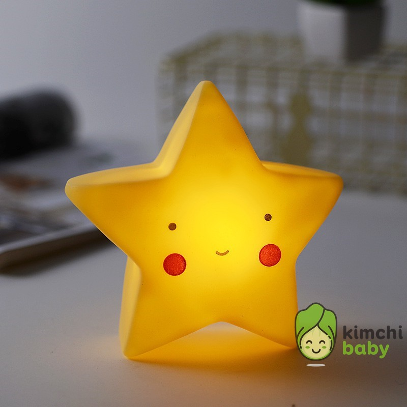 [BAO GIÁ SHOPEE] Đèn Ngủ Led Silicon Cao Su Siêu Dễ Thương Cho Bé Yêu KICHIBA DN01 (Có ảnh thật và Clip)
