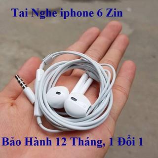 [ BH 12 tháng ] Tai nghe 6/6s/6plus/6s plus chuẩn apple chân tròn 3.5