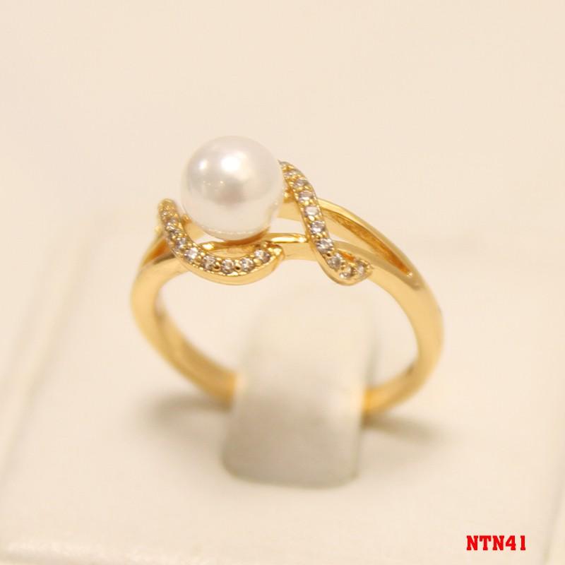 Nhẫn Nữ Ngọc Trai Thời Tran