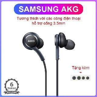 Tai nghe nhét tai Samsung AKG cổng 3.5mm giảm ồn, âm thanh sống động, nhỏ gọn bền bỉ, thiết kế vừa vặn thoải mái khi đeo