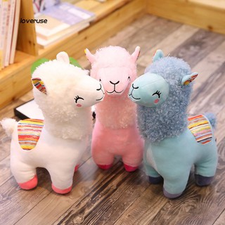 ღLOVEღCute Alpaca Animal Stuffed Soft Doll Cuddle Throw Pillow Kids Toy Birthday Gift