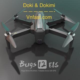Flycam Bugs 12 EIS Gấp Gọn Camera 4K chống rung điện tử