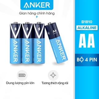 Pin Kiềm AA ANKER Alkaline (Bộ 2 Pin/4 Pin) – B1810