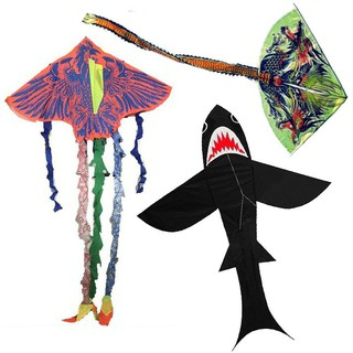 Diều thả hình phượng hoàng lửa, cá mập, rồng cho mọi lứa tuổi thumbnail