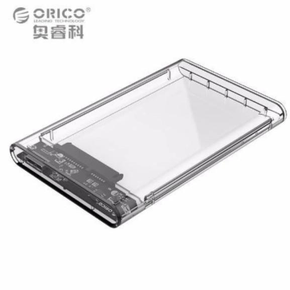 [Nhập ELCLMAY hoàn 30K xu đơn từ 200K]Hộp đựng ổ cứng 2.5 Inches USB 3.0 trong suốt Giá chỉ 189.000₫