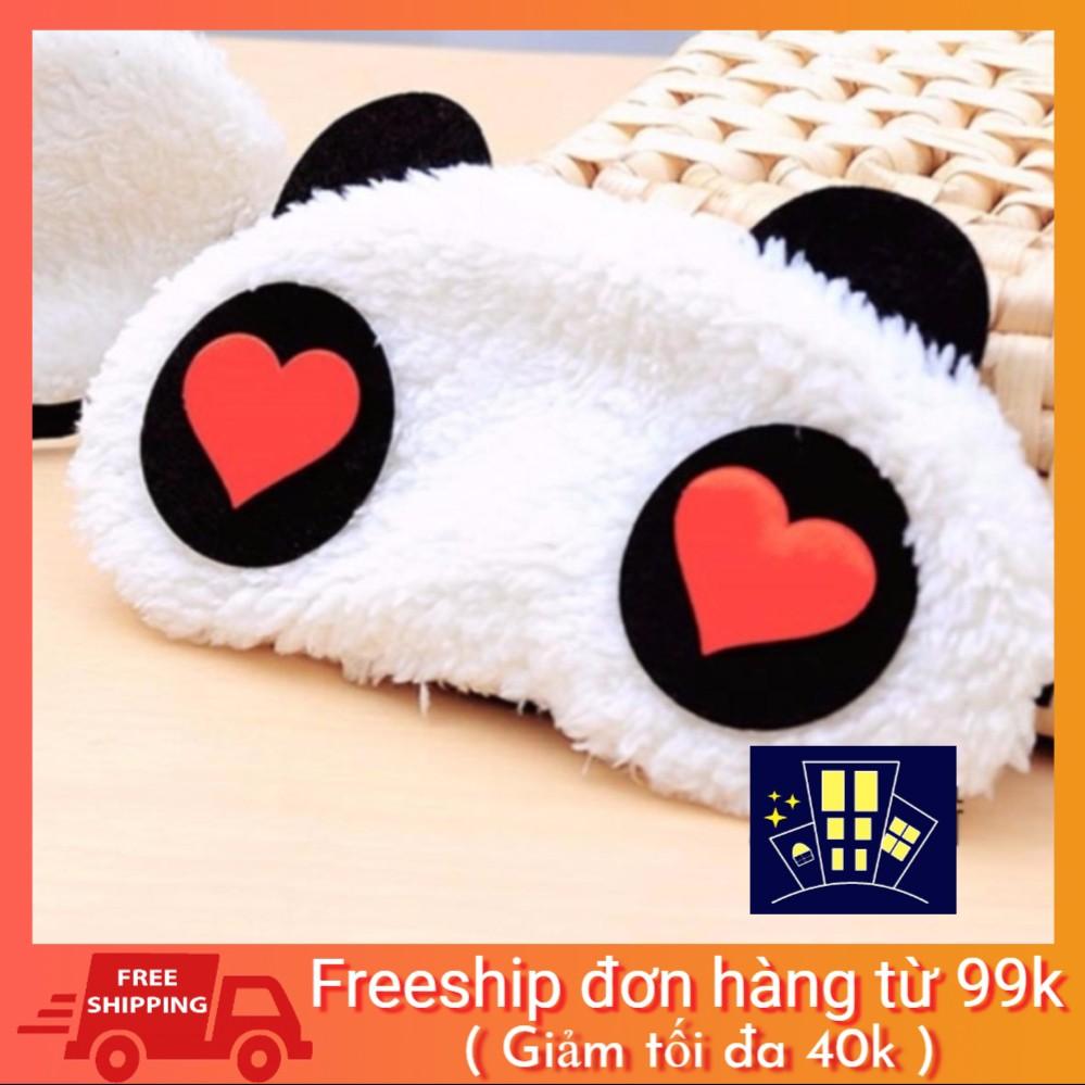 Mặt nạ che mắt ngủ hình gấu Panda cam kết hàng loại 1 Chính hãng