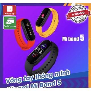 [Mã ELMS5 giảm 7% đơn 300K] Xiaomi Mi Band 5/6 Đen Full Tiếng Việt ( Giao 2h Grab, NowShip )