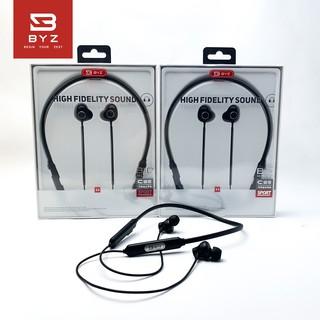 [Mã 2404EL10K giảm 10K đơn 20K] Tai nghe Bluetooth thể thao quàng cổ BYZ-B10 [ Bảo Hành 12 Tháng]