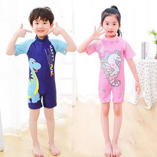 Đồ bơi liền thân cho bé trai và bé gái 5-10 tuổi họa tiết hoạt hình đáng yêu nhiều màu sắc BBShine – DB013