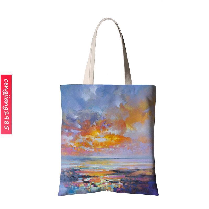 túi xách canvas họa tiết màu nước - 14102410 , 2479091867 , 322_2479091867 , 332500 , tui-xach-canvas-hoa-tiet-mau-nuoc-322_2479091867 , shopee.vn , túi xách canvas họa tiết màu nước