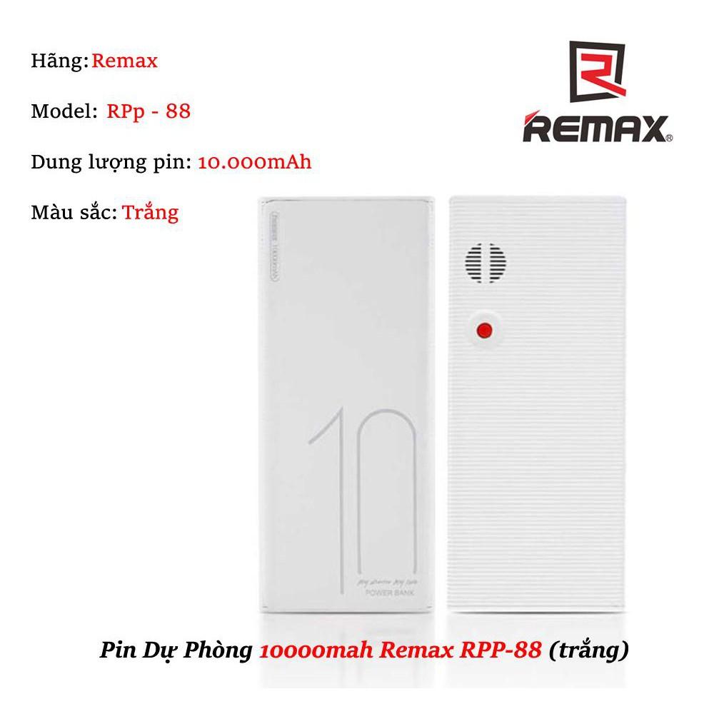 Pin Dự Phòng REMAX 10.000mah RPP-88