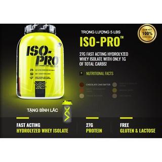 Iso Pro 5BLS - Whey protein isolate - Whey hydrolyzed - Hổ phát triển và duy trì cơ bắp 66 lần dùng thumbnail