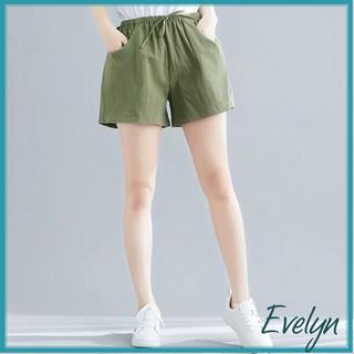 Quần đùi nữ chất đũi Evelyn siêu mát , nhẹ nhàng, thấm hút mồ hôi cực tốt thumbnail