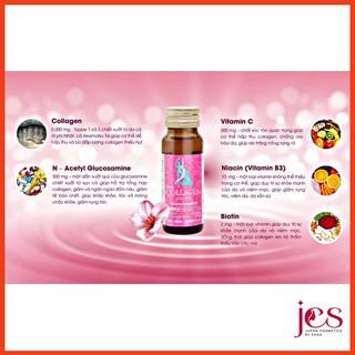 Hộp 10 Chai Nước Uống Đẹp Da TKK Collagen 5000mg Glucosamine 300mg