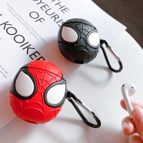 Vỏ hộp đựng tai nghe Airpods 1/2 TWS hình người nhện bằng silicone - 22803130 , 2879202103 , 322_2879202103 , 66000 , Vo-hop-dung-tai-nghe-Airpods-1-2-TWS-hinh-nguoi-nhen-bang-silicone-322_2879202103 , shopee.vn , Vỏ hộp đựng tai nghe Airpods 1/2 TWS hình người nhện bằng silicone