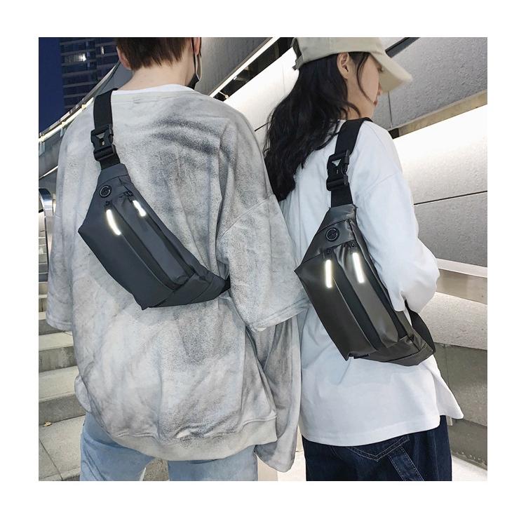 Túi đeo chéo thời trang Hàn Quốc mini vải chống thấm nước