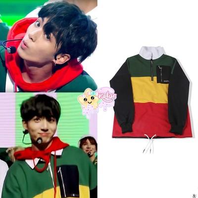 Jungkook's Style Go Go Sweatshirt